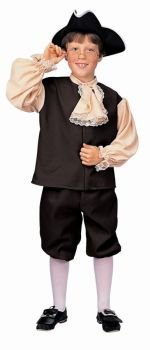 Boy's Colonial Costume - Child Large