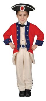 Colonial Soldier - Child M (8 - 10)