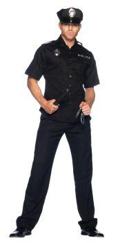 Men's Cop Costume - Adult X-Large