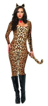 Women's Cougar Costume - Adult S/M