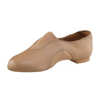 Child Jazz Shoe - Caramel - Child Shoe 13.5W