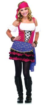 Teen Crystal Ball Gypsy Costume - Teen S/M