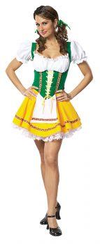 Women's Beer Garden Girl Costume - Adult L (16 - 18)