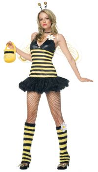 Women's Daisy Bee Costume - Adult M/L