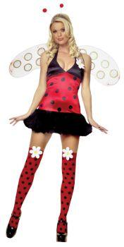 Women's Daisy Bug Halter Costume - Adult M/L