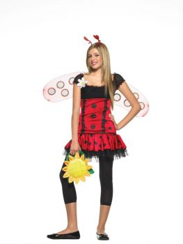Teen Daisy Bug Costume - Teen S/M
