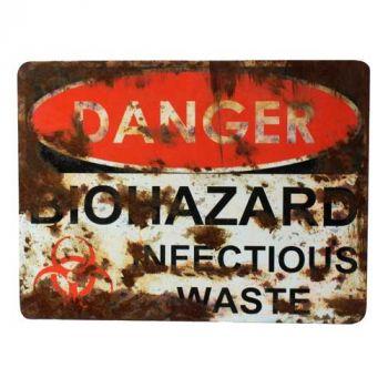 Danger - Biohazard Infectious Waste