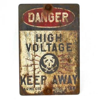 Danger High Voltage - Keep Away Sign