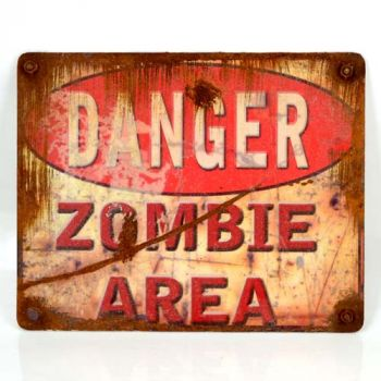 Danger - Zombie Area