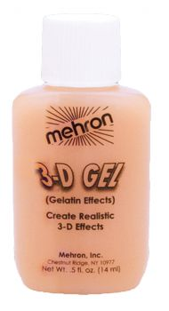 3D Gel Gelatin Effects - Flesh