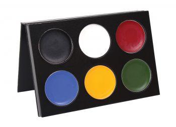 Mask Color Palette - 6 Colors - Multicolor