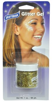 1oz Glitter Gel - Gold