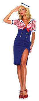 Women's Deckhand Diva Costume - Adult X-Large