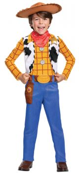 Boy's Woody Classic Costume - Toy Story 4 - Child M (7 - 8)