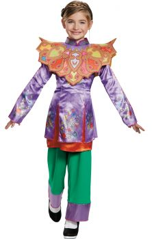 Girl's Alice Asian Look Classic Costume - Alice Through The Looking Glass Movie - Child L (10 - 12)