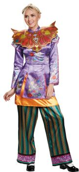 Women's Alice Asian Look Deluxe Costume - Alice Through The Looking Glass Movie - Adult M (8 - 10)