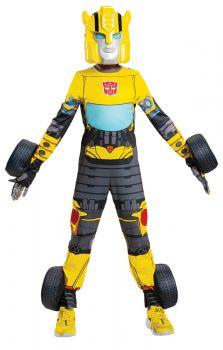 Boy's Bumblebee Transforming Costume - Child S (4 - 6)