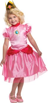 Princess Peach Toddler Costume - Toddler (3 - 4T)