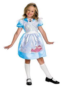 Girl's Alice Classic Costume - Alice In Wonderland - Child M (7 - 8)