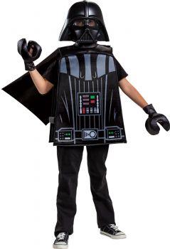 Boy's Darth Vader LEGO Basic Costume