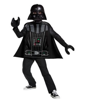 Boy's Darth Vader LEGO Classic Costume - Child M (7 - 8)