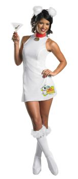 Women's Sassy Brian Costume - Family Guy - Adult M (8 - 10)