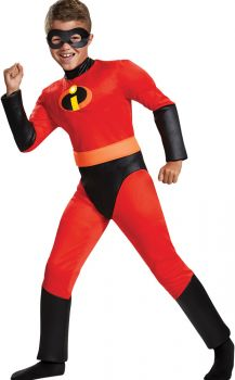 Boy's Dash Classic Muscle Costume - The Incredibles 2 - Child L (10 - 12)