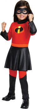 Violet Jumpsuit Deluxe Toddler Costume - Toddler (3 - 4T)