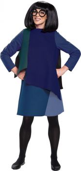 Women's Edna Deluxe Costume - The Incredibles 2 - Adult M (8 - 10)