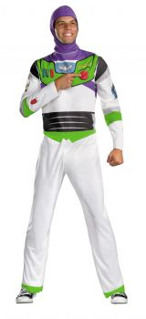 Men's Buzz Lightyear Classic Costume - Toy Story - Adult 2X (50 - 52)
