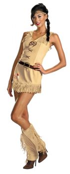 Women's Tonto Sassy Costume - The Lone Ranger - Adult S (4 - 6)