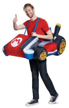 Men's Mario Kart Inflatable Costume