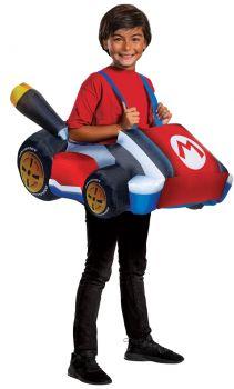 Boy's Mario Kart Inflatable Costume