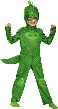 Boy's Gekko Classic Costume - PJ Masks - Toddler (3 - 4T)