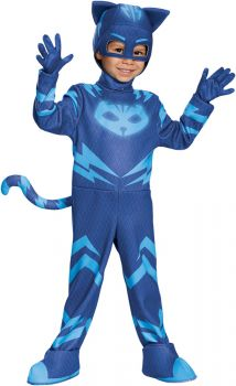 Boy's Catboy Deluxe Costume - PJ Masks - Child S (4 - 6)