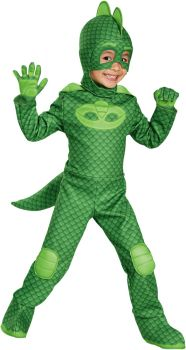 Boy's Gekko Deluxe Costume - PJ Masks - Child S (4 - 6)