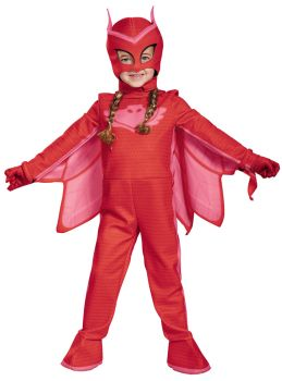 Girl's Owlette Deluxe Costume - PJ Masks - Child S (4 - 6X)