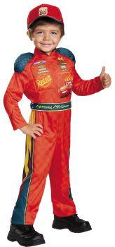 Boy's Lightning McQueen Classic Costume - Cars 3 - Child S (4 - 6)