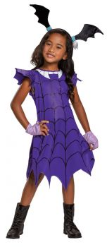 Girl's Vampirina Ghoul Classic Costume - Child M (7 - 8)