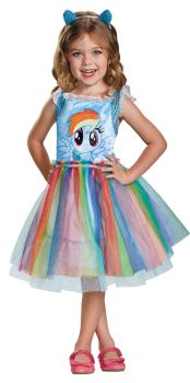 Rainbow Dash Classic Toddler Costume - My Little Pony - Toddler (3 - 4T)