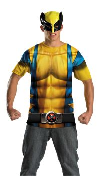 Men's Wolverine Alt No Scars Costume - Adult 2X (50 - 52)