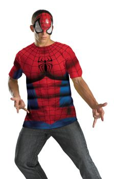 Men's Spider-Man Alt No Scars Costume - Adult 2X (50 - 52)