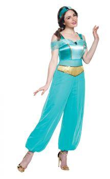 Women's Jasmine Deluxe Costume - Adult M (8 - 10)