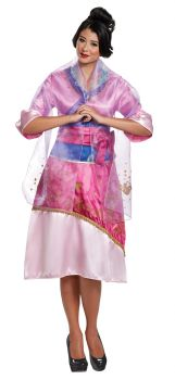Women's Mulan Deluxe Costume - Adult M (8 - 10)