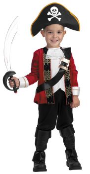 Boy's El Capitan Deluxe Costume - Child S (4 - 6)