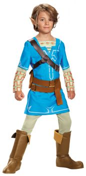 Boy's Link Breath Of The Wild Deluxe Costume - Child L (10 - 12)