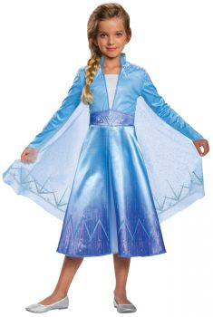 Girl's Elsa Classic Costume - Frozen 2 - Child M (7 - 8)
