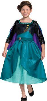 Queen Anna Classic Toddler Costume - Child M (7 - 8)
