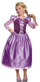 Girl's Rapunzel Day Dress - Tangled - Child M (7 - 8)