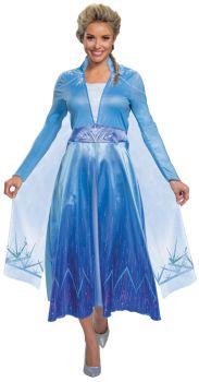 Women's Elsa Deluxe Costume - Frozen 2 - Adult L (12 - 14)
